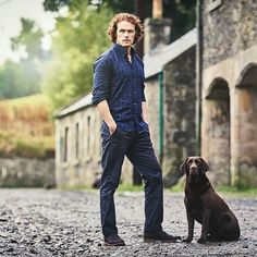 "Gefällt 10 Mal, 1 Kommentare - Inez Joyce Grove (@inezjoycegrove) auf Instagram: ""It's #SexySaturday everyone How can you not love a man in plaid and a dog... Amazing combo…"""