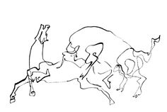 CABALLOS PINTADOS. Hoy : Los caballos de Pablo Picasso