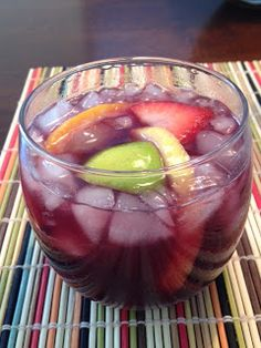 delicious, easy Sangria recipe. We are making this asap @Hadley Mosby Mosby Wade