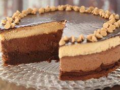 עוגת מוס שוקולד וחמאת בוטנים - העוגה (צילום: חן שוקרון ,אוכל טוב)