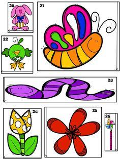 Cet atelier de mesure est excellent pour vos centres de mathématique! Les élèves auront du plaisir à mesurer les êtres vivants du printemps. L'atelier peut aussi être utilisé comme cartes à tâches. Toutes les mesures sont au centimètre près.   Cet atelier comprend:  - 30 cartes à mesurer - la fiche réponse pour l'élève - le corrigé  - 2 fiches d'exercices sur la mesure en centimètre - Une fiche de comparaison des mesures en centicubes