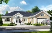 Willa parkowa 3 Drawing House Plans, Rustic Salon, House Plans Mansion, Concrete Bench, Kerala Houses, Home Salon, Open Space Living, Solar Installation, House And Home Magazine