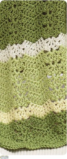 Clockhouse Ripple Afghan Free Crochet Pattern Crafts Crochet