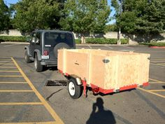 Outside the Rat Race: Harbor Freight Tools Heavy Duty Foldable Utility Trailer