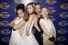 Premiere Matilda, a 4 atrizes que representam o papel principal!