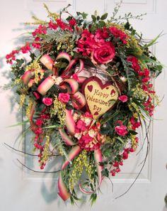 """""""Valentines Day Wreath"""""""