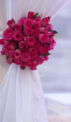 sofisticados arco de flores para bodas