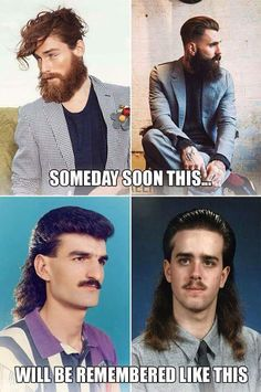 Funny Pics ~ Hipsters & Mullets: Someday soon this will be remembered like this Funny Shit, Haha Funny, Funny Stuff, Funny Things, That's Hilarious, Fun Funny, Funny Humor, Funny Images, Funny Photos