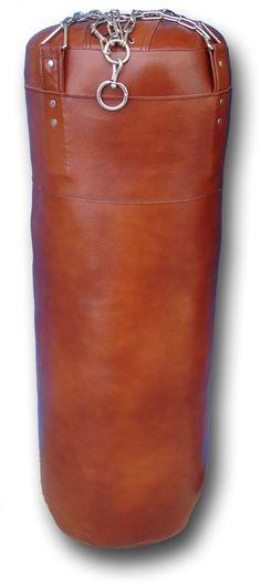 Boxsack inkl. Boxhandschuhe.  Braunes Leder, kaum genutzt 1,50 hoch und wiegt so um die 30kg.