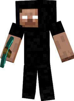 Minecraft Spielen Deutsch Descargar Skin Para Minecraft Pe - Skins fur minecraft herobrine