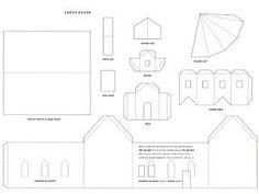 Mel Stampz: Wee Houses (124 links: templates, tutorials, etc.)