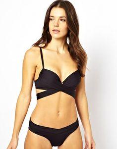 Image 4 ofSunseeker Exclusive To ASOS Wrap Padded Bikini Top