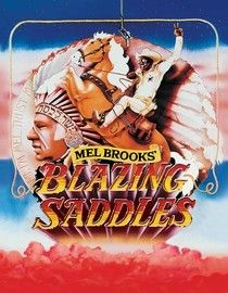 Politically incorrect and relentlessly funny, Mel Brooks's take on Hollywood Westerns follows the tortured trail of freed slave Bart, who's elected sheriff of the racist town of Rock Ridge. He must foil a land-grabbing governor (Brooks) with help from a washed-up, pot-smoking gunslinger (Gene Wilder).