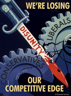 History repeats it's self... a WWII propaganda poster.   We need to send this to our representatives