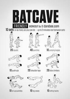 Batcave Friendly Workout