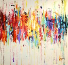 Art Painting abstract painting Acrylic painting by jolinaanthony