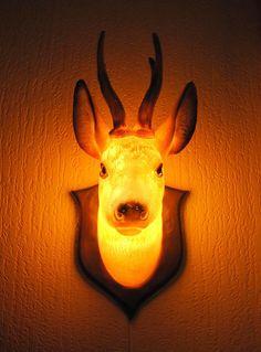 Deer Lamp by Nikki Liefgeval