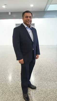 Vivek Khindria got his first LGFG Fashion House suit delivered at Pearson Airport right before flight!