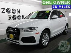 2018 Audi Premium Sport for sale at First City Cars and Trucks in Gonic, NH! Used Suv For Sale, Audi Q3, City Car, Granite, Dream Cars, Trucks, Sports, Hs Sports, Truck