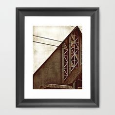 A Church In East Nashville Framed Art Print by Jensen Merrell Designs - $32.00