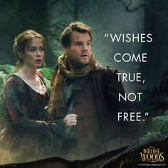 Careful the choices you make. #IntoTheWoods - in theaters Christmas Day!