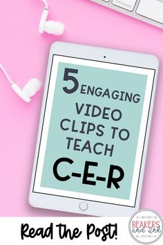 Have you wanted to introduce your students to writing claim, evidence, and reasoning in the science classroom, but aren't sure where to start? This blog post will show you 5 great videos to engage your students and get them writing! Secondary School Science, 7th Grade Science, Middle School Science, Science Resources, Science Lessons, Activities, Teaching Resources, Teaching Ideas, Science Classroom