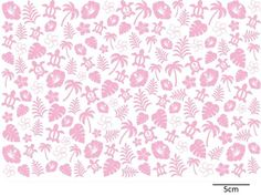 HAWAII-CHINTZ - Roterose