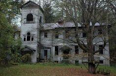 Forgotten school in Lansing, New York.