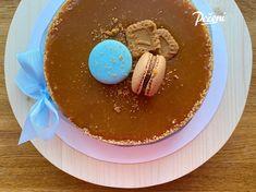 Cheesecake se slaným karamelem - Víkendové pečení Cheesecake, Pancakes, Pudding, Fruit, Menu, Breakfast, Menu Board Design, Morning Coffee, Cheese Pies