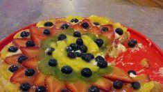 Fresh Fruit Flan Recipe | Allrecipes Flan Recipe Allrecipes, Fruit Flan Recipe, Fresh Fruit Desserts, Fresh Fruit Tart, Jelly Roll Pan, Cream Cheese Filling, Cheesecake Recipes, Blueberry, Yummy Food