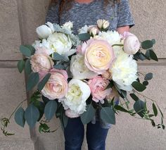 Lush and full, Free form bridal bouquet By Lace and Lilies, Fort Collins, Co