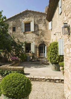 Provence stonework inspiration for the DREAM RUSTIC Villa interiors by Shaw...step on in...
