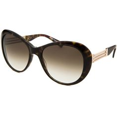 Balmain Women's Butterfly Dark Tortoise Sunglasses ($81) ❤ liked on Polyvore featuring accessories, eyewear, sunglasses, tortoise, tortoise shell glasses, dark sunglasses, mirrored lens sunglasses, balmain sunglasses and butterfly sunglasses