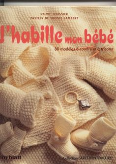 Album sous forme d& Baby Knitting Patterns, Baby Patterns, Crochet Patterns, Knitting Magazine, Crochet Magazine, Knitting Books, Knitting For Kids, Crochet Baby Sweaters, Knit Crochet