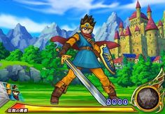 Dragon Quest 9 Hero | The Hero of Dragon Quest III, as he appears in the Monster Battle Road ...