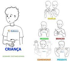 Vamos Aprender Libras? | Centro de Educação para Surdos Rio Branco Sign Language Book, Libra Love, Love You, Education, Signs, Learning, Books, Asl Sign Language, Words In Sign Language