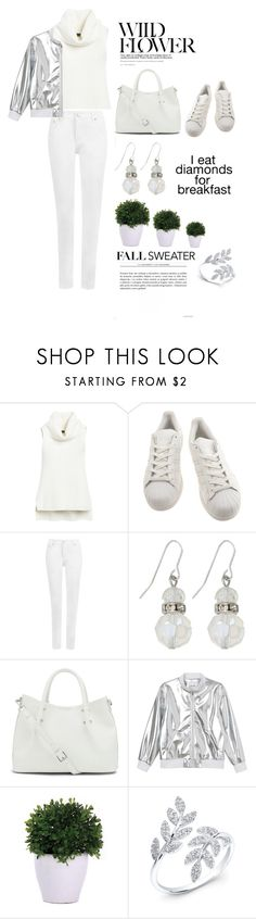 """""""sleeveless sweater white"""" by lushxoxo ❤ liked on Polyvore featuring White House Black Market, adidas, WearAll, M&Co, Vince Camuto, Monki, By Emily, Lux-Art Silks, Anne Sisteron and contest"""
