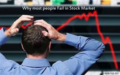 Why most people Fail in Stock Market:  There are many ways to trade effectively in the stock market. Different people follow different ways to trade in the stock market. But it is the experience of all that a big percent of people fail while trading in the stock market. They end up in making huge losses in the stock market.