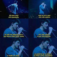 Trechos de músicas / Shawn Mendes
