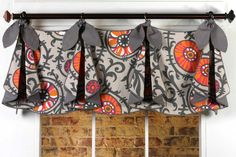 PATE MEADOWS DESIGN PATTERN- TRACY VALANCE | Drapery Supplies and Upholstery Supplies