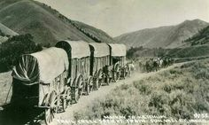 The Trail Creek Freight Train ran from #Mackay to #Ketchum (central #Idaho). You can see the wagons in the annual Labor Day Parade.  You can still drive the 40 mi. Trail Creek route, but best do it before the snow flies. | Visitidaho.org