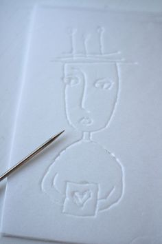 Styrofoam blockprinting tutorial {JennyDoh}  #printmaking
