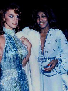 Ann Margret and Tina Turner in Bob Mackie
