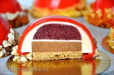 Russian Desserts, Russian Recipes, Mousse, Baking Recipes, Cake Recipes, Phyllo Dough, Pastry Cake, Pretty Cakes, Confectionery