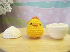 NOTE: This is the PATTERN for Chicky  I am sure, like me, many of you would like to create your very own lovely little Chicky, so Ive went on to write out a pattern for Chicky, hoping that there will be many more lovely Chicky that will be made with love and tend with care by their creators or to those who will be receiving them.  Chicky is done with the basis crochet techniques of chaining, single crochet and slip stitch. He is 2.5 inches tall. Youll be able to download the PDF file as soon…