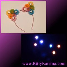#LUVIT  A Kitty Katrina #Pastel Rainbow Daisy and #Rainbow LED #CatEarHeadband is going out to a LUVly #FlowerChild  Get your LED #CatEars at www.KittyKatrina.com in our LED Crowns / Headbands Section  #kittyears #ledflowercrown #flowerheadband #flowercrown #flowerhalo #flowerchildren #raveoutfit #ravegirls #festivalfashion #festivallife #edmgirls #edmfashion #electricdaisycarnival #edc #edclv #edclasvegas #edcny #edcorlando #pastelhair #rainbowhair #pastelgirl #rainbowgirl #kawaiigirl…