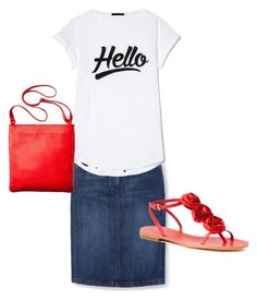 """Hello"" by a-b-underwood on Polyvore featuring Boden, Kate Spade and Merona"