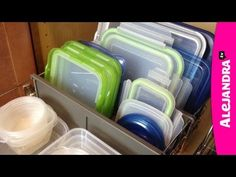 [VIDEO]: How To Organize Food Storage Containers And Tupperware from http://www.alejandra.tv