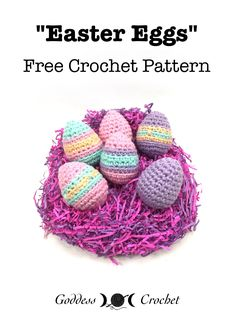 Easter Eggs - Free Crochet Pattern