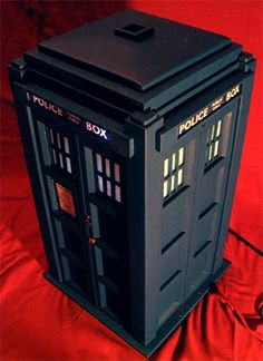 TARDIS PC Case built from scratch!